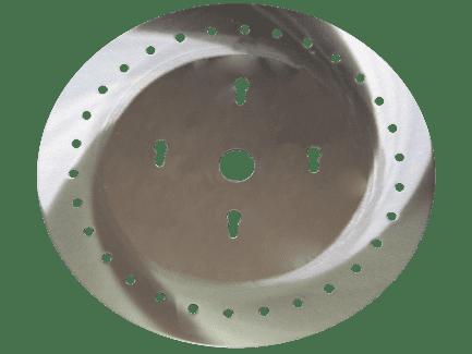Высевающий диск УПС 0,8 мм без отверстий 509.046.4568-10